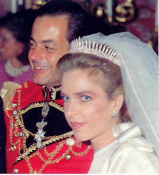 Fringe tiara Sofia d'Asburgo