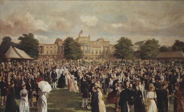 Garden Party per il Golden Jubilee della regina Vittoria