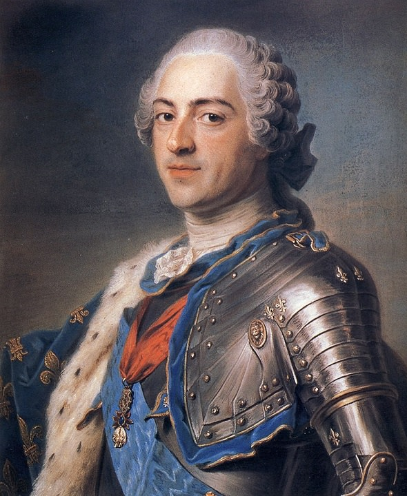 Luigi XV re di Francia