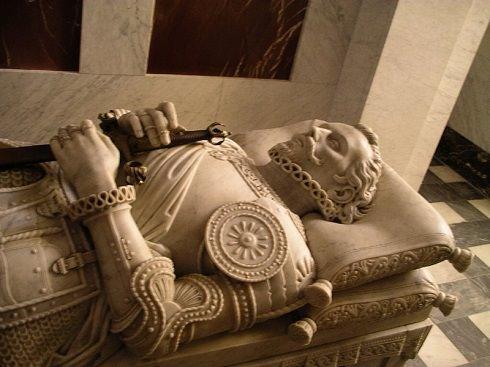 La tomba di don Juan d'Austria all'Escorial