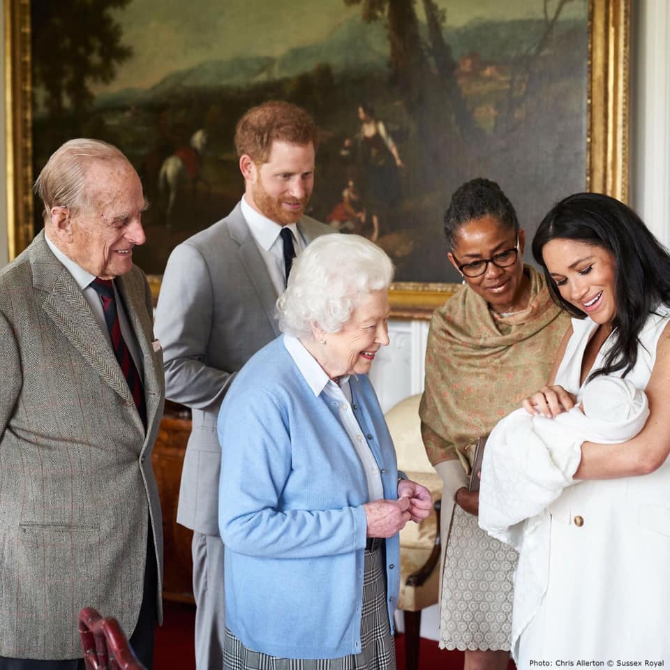 baby Sussex Archie