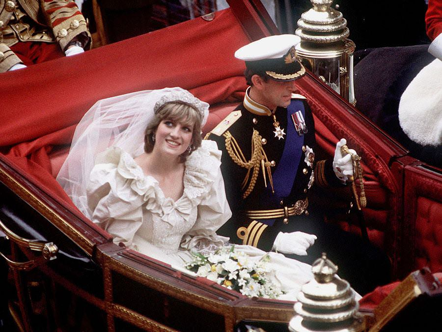 contenuti extra Carlo e Diana wedding