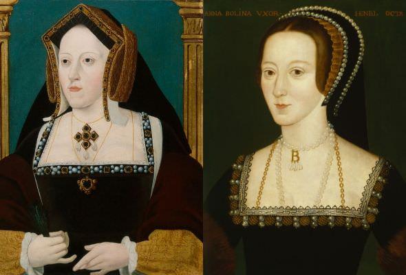 Le sei mogli di Enrico VIII, Caterina e Anna
