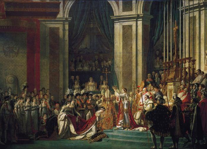 Napoleone Bonaparte, le Sacre